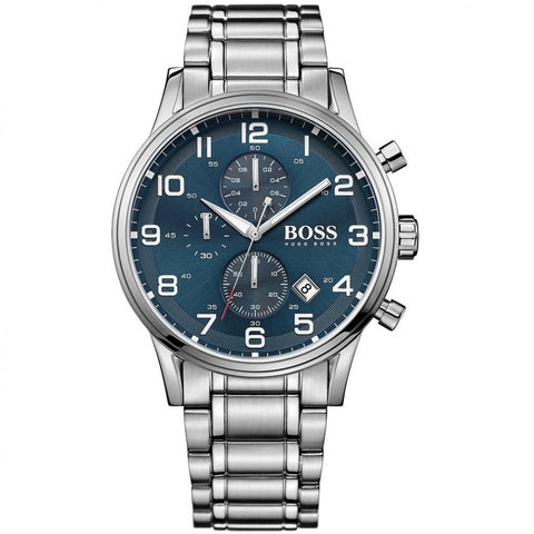 Hugo Boss Men's Aeroliner Chronograph Watch 1513183 - JB Watches