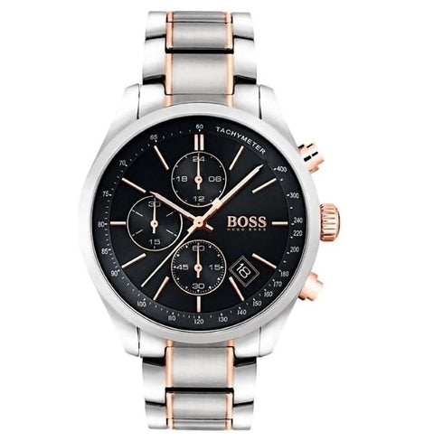 Hugo Boss Men's Grand Prix Chronograph Watch 1513473 - JB Watches