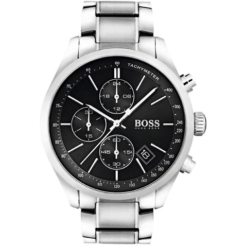 Hugo Boss Men's Grand Prix Chronograph Watch 1513477 - JB Watches