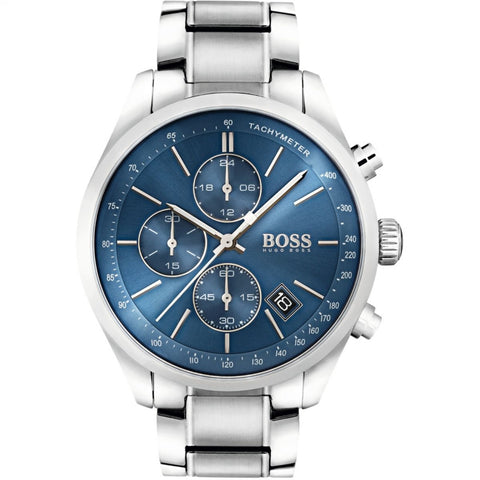 Hugo Boss Men's Grand Prix Chronograph Watch 1513478 - JB Watches