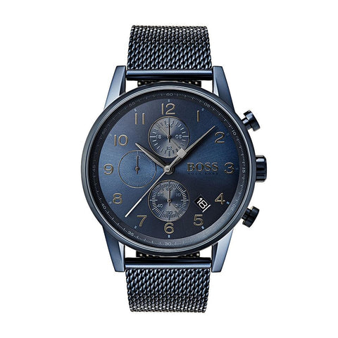 Hugo Boss Men's Navigator GQ Edition Chronograph Watch 1513538 - JB Watches