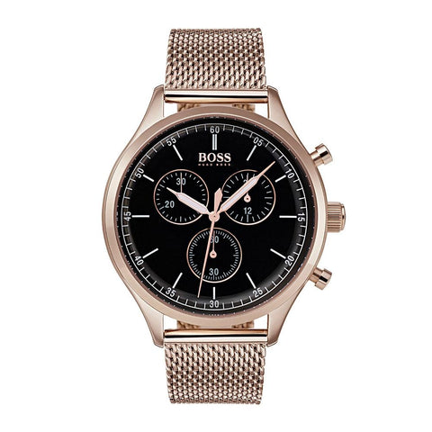 Hugo Boss Men's Companion Chronograph Watch 1513548 - JB Watches