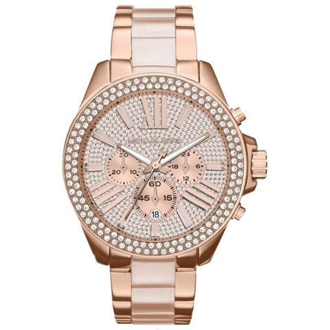 Michael Kors Ladies' Wren Chronograph Watch MK6096 - JB Watches