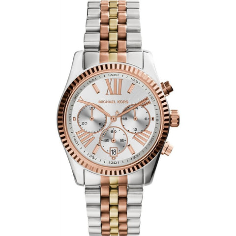 Michael Kors Ladies' Lexington Chronograph Watch MK5735 - JB Watches