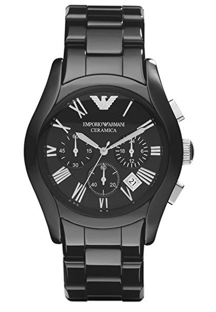 Emporio Armani Men's Ceramic Chronograph Watch AR1400 - JB Watches