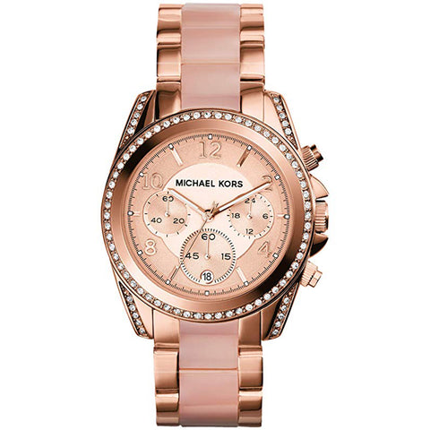 Michael Kors Ladies' Blair Chronograph Watch MK5943 - JB Watches