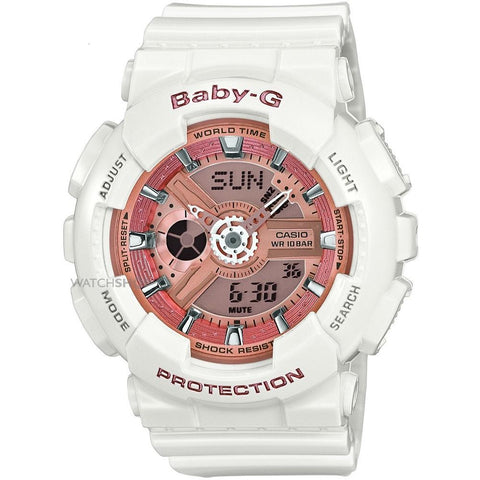Casio Ladies' Baby-G Chronograph Watch BA-110-7A1ER - JB Watches