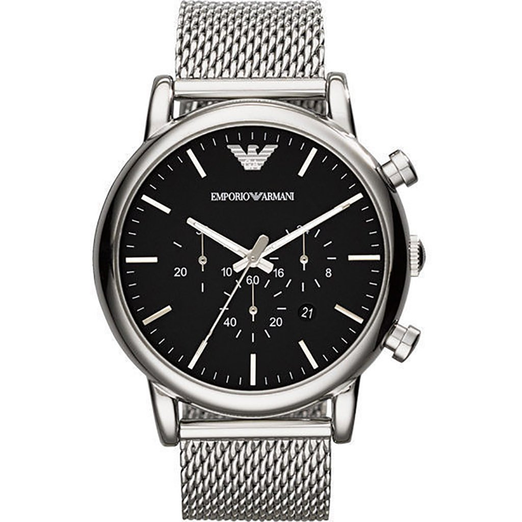 Emporio Armani Men's Chronograph Watch AR1808 - JB Watches