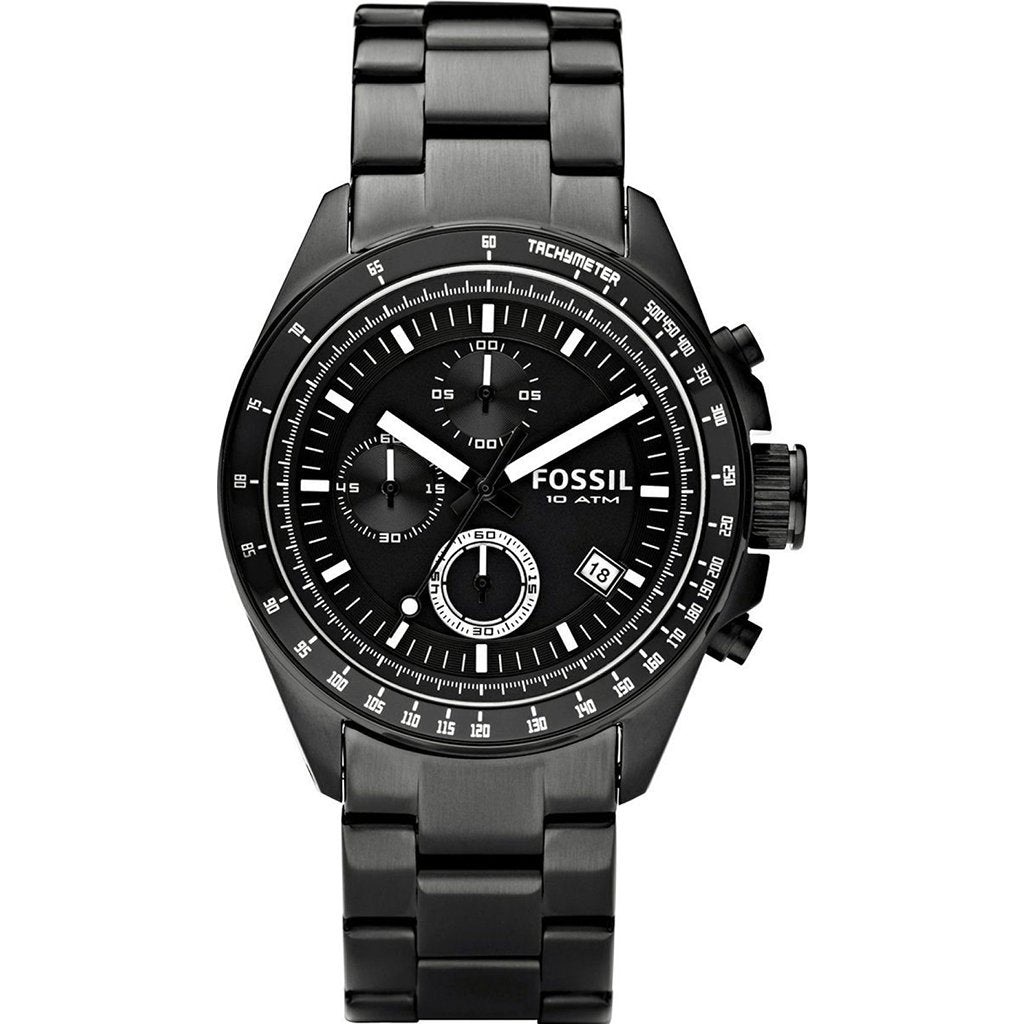 Fossil Men's Decker Chronograph Watch CH2601 - JB Watches