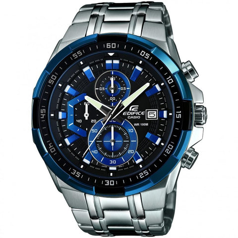 Casio Edifice Men's Chronograph Watch EFR-539D-1A2VUEF - JB Watches