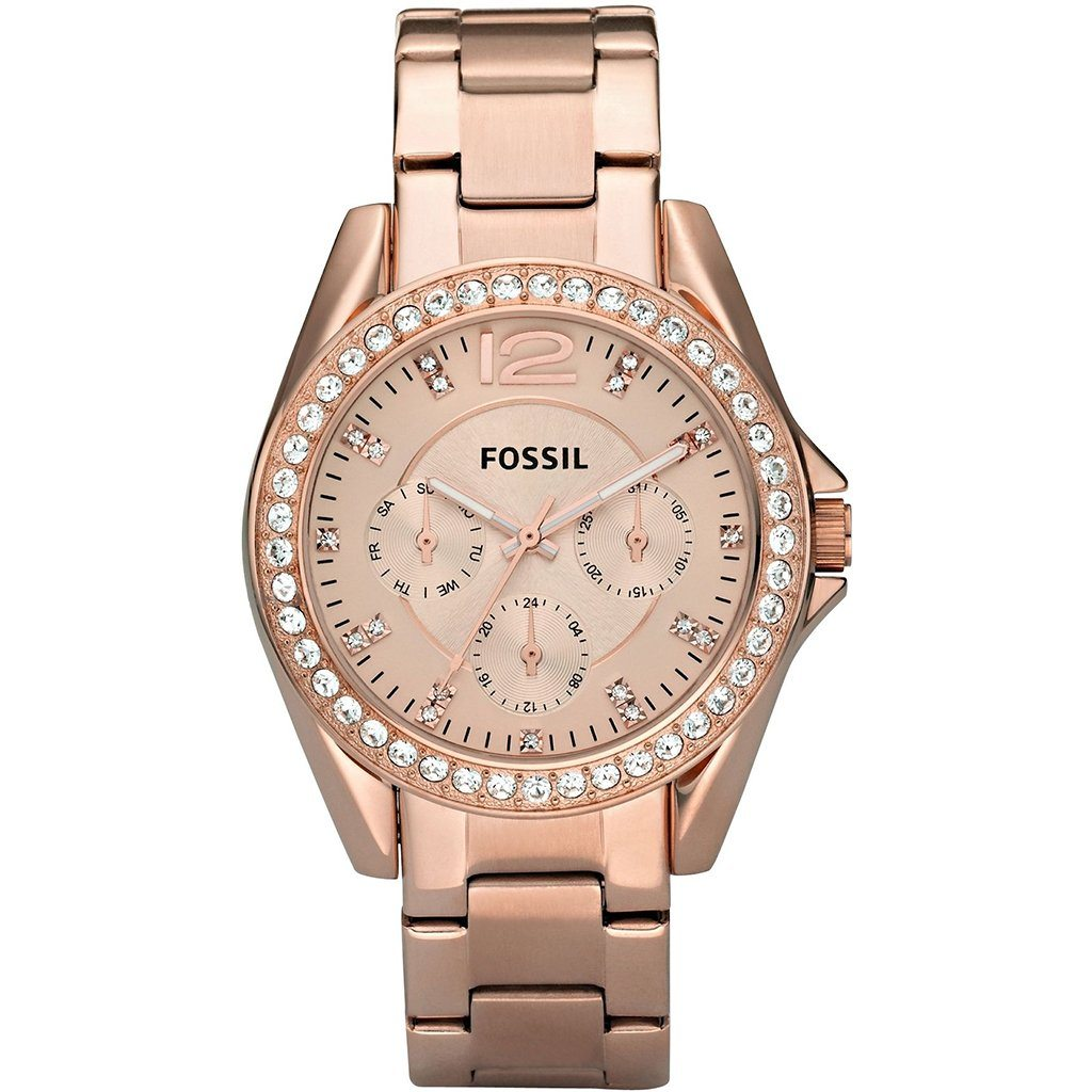 Fossil Ladies' Riley Chronograph Watch ES2811 - JB Watches
