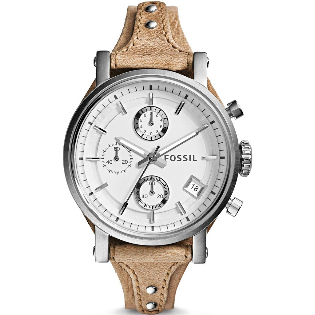 Fossil Ladies' Original Boyfriend Chronograph Cuff Watch ES3625 - JB Watches