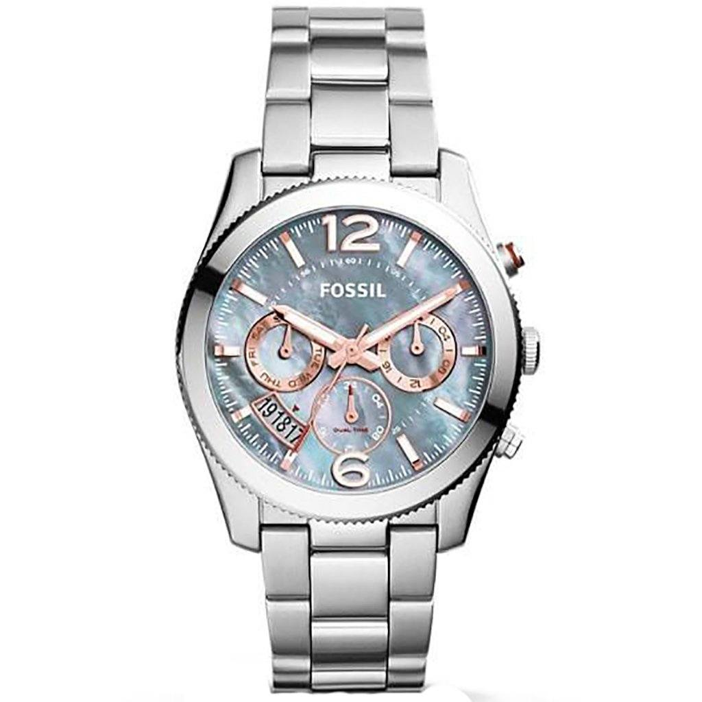Fossil Ladies' Perfect Boyfriend Chronograph Watch ES3880