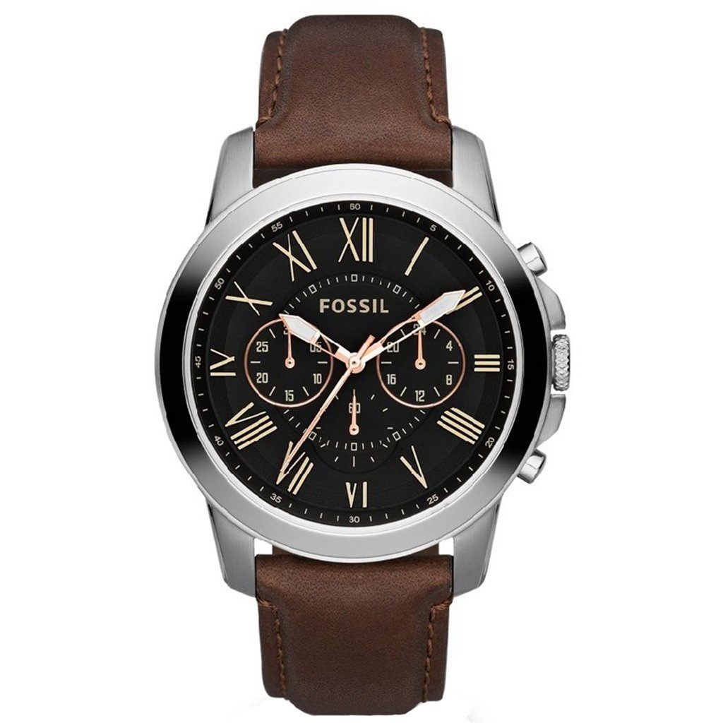 Fossil Men's Grant Chronograph Watch FS4813 - JB Watches