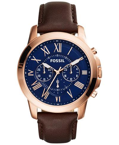 Fossil Men's Grant Chronograph Watch FS5068 - JB Watches