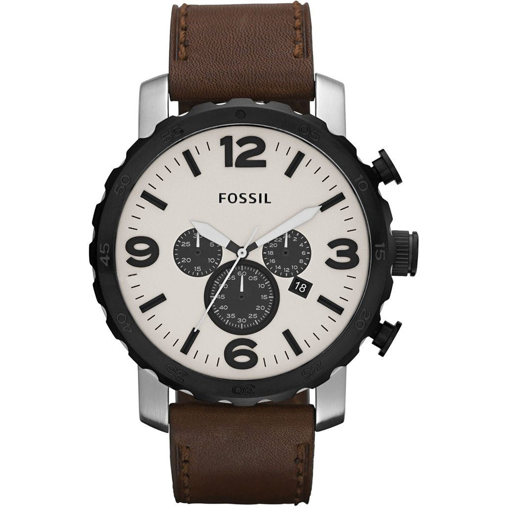 Fossil Men's Nate Chronograph Watch JR1390