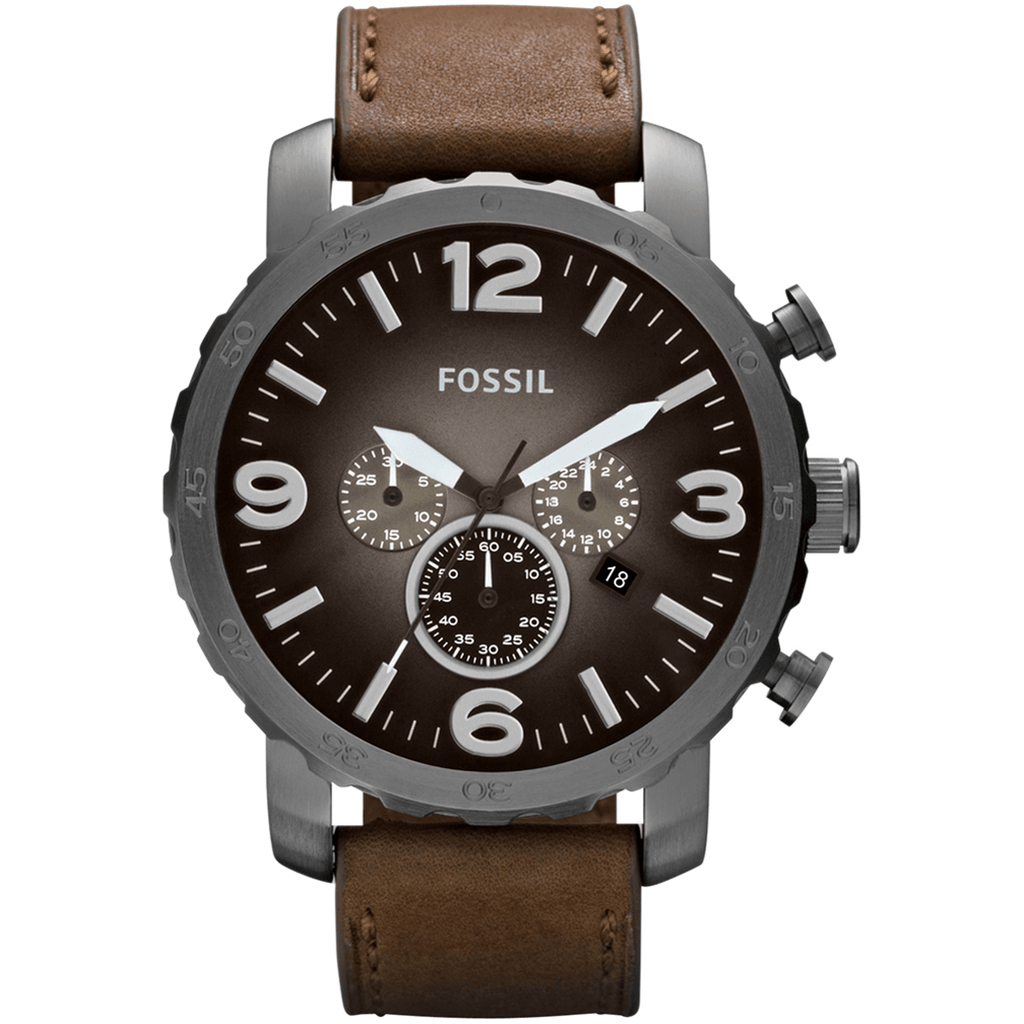 Fossil Men's Nate Chronograph Watch JR1424