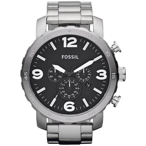 Fossil Men's Nate Chronograph Watch JR1437