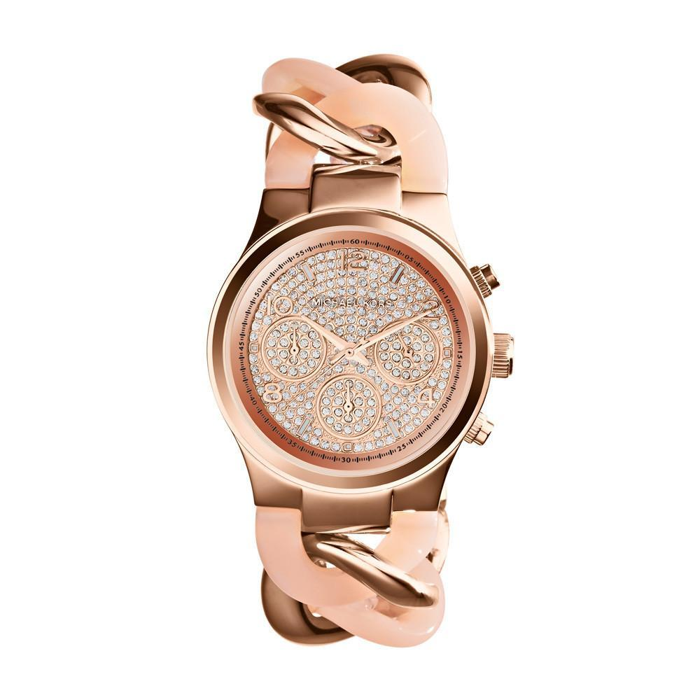 Michael Kors Ladies Runway Chronograph Watch Mk4283 Jb Watches