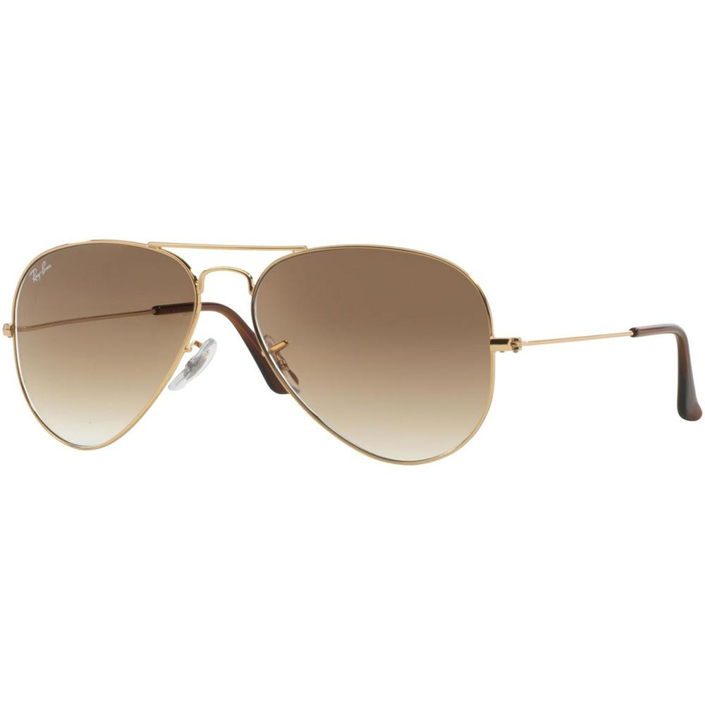 Ray-Ban Unisex Aviator RB3025 001/51 58 Sunglasses - JB Watches