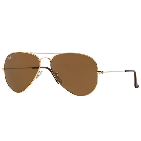 Ray-Ban Unisex Aviator RB3025 001/57 58 Polarised Sunglasses - JB Watches