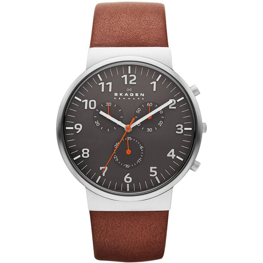 Skagen Men's Ancher Relaxed Chronograph Watch SKW6099 - JB Watches