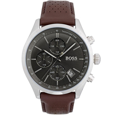 Hugo Boss Men's Grand Prix Chronograph Watch 1513476 - JB Watches