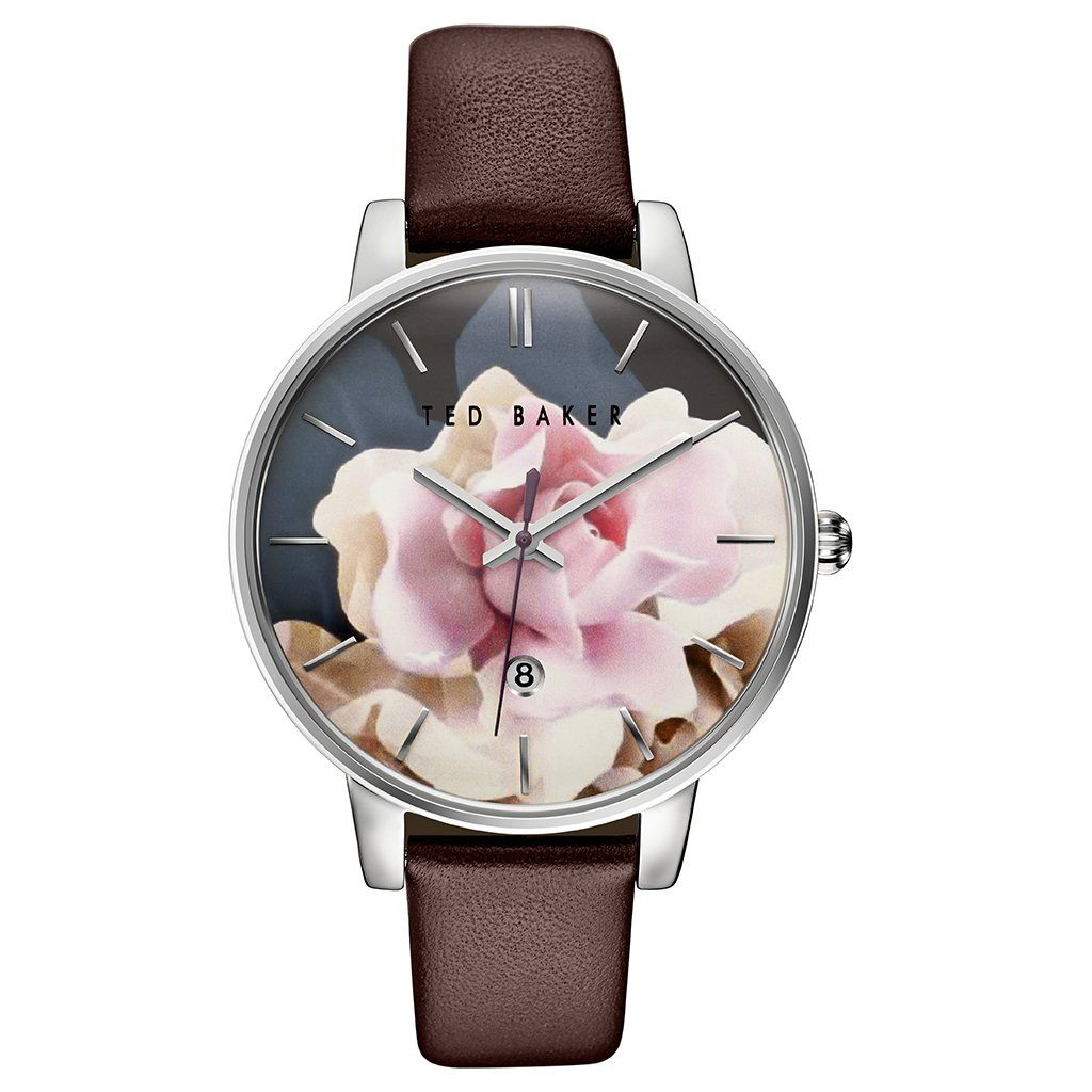 Ted Baker Ladies' Rose Pattern Watch TE10030692 - JB Watches