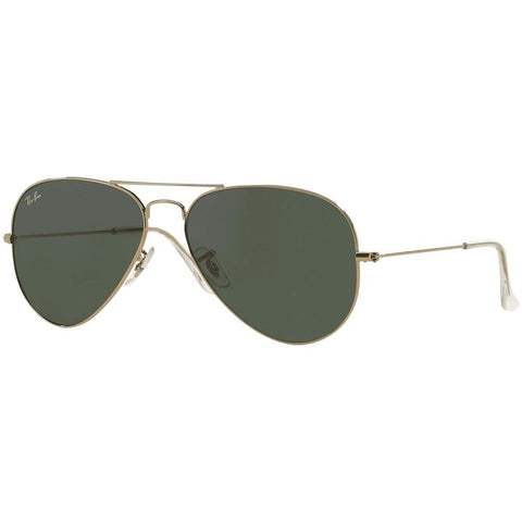 Ray-Ban Unisex Aviator RB3025 W3234 55 Sunglasses - JB Watches