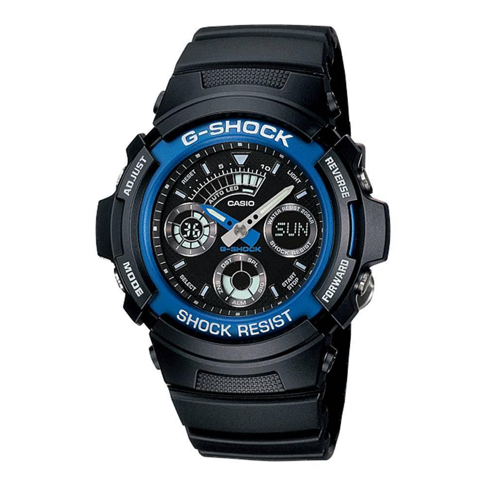 Casio Men's G-Shock Chronograph Watch AW-591-2AER