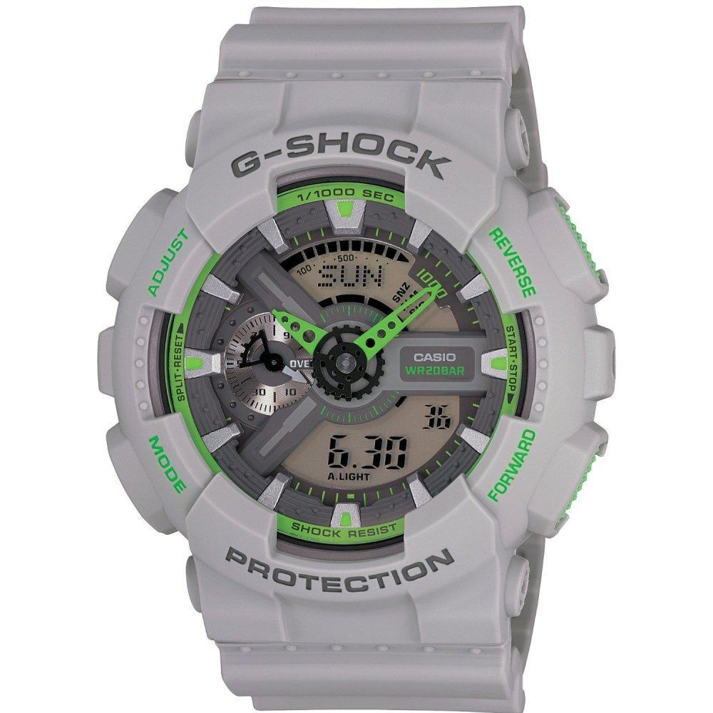 Casio Men's G-Shock Chronograph Watch GA110TS-8A3 - JB Watches