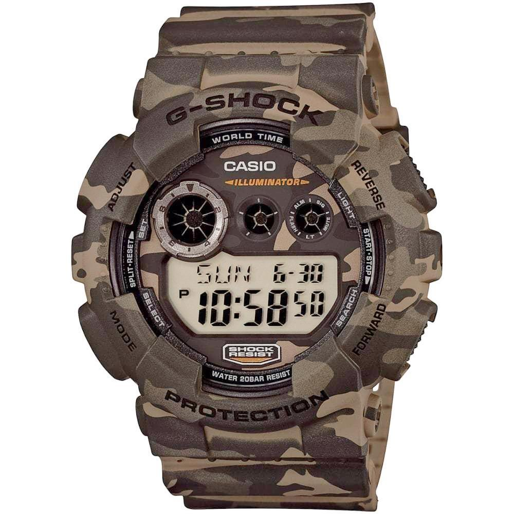Casio Men's G-Shock Chronograph Watch GD120CM-5 - JB Watches