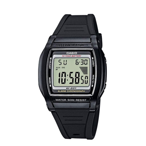 Casio Men's Watch W-201-1AV - JB Watches