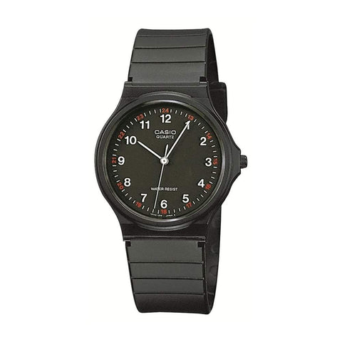 Casio Unisex Black Watch MQ-24-1BLL - JB Watches