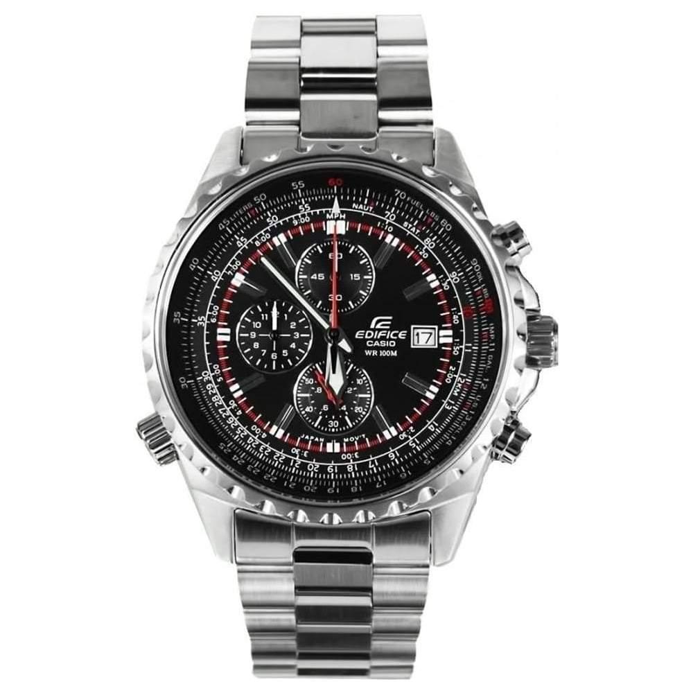 Casio Men's Edifice Chronograph Watch EF-527D-1AVEF - JB Watches