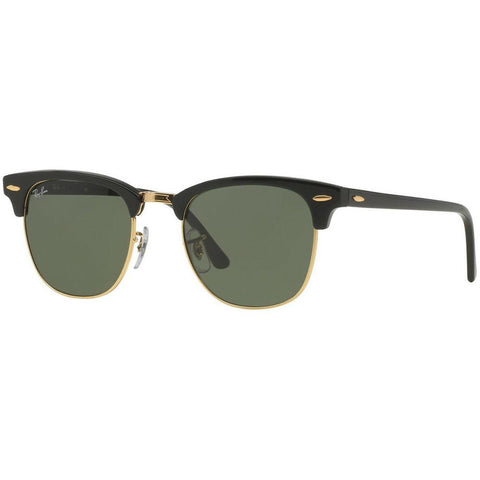 Ray-Ban Unisex Clubmaster RB3016 W0365 51 Sunglasses - JB Watches