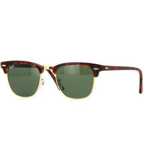 Ray-Ban Unisex Clubmaster RB3016 W0366 51 Sunglasses - JB Watches