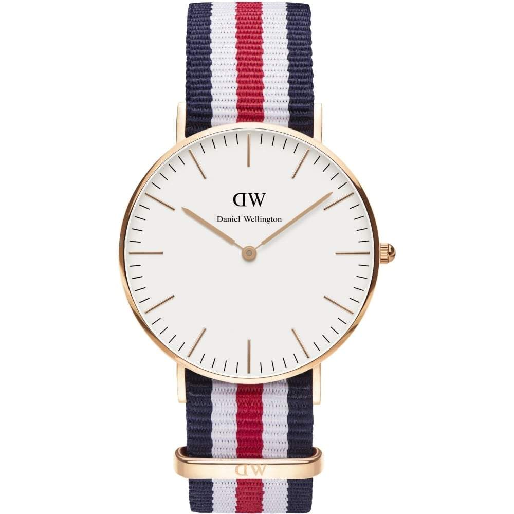 Daniel Wellington Ladies' Canterbury 36mm Watch DW00100030 - JB Watches