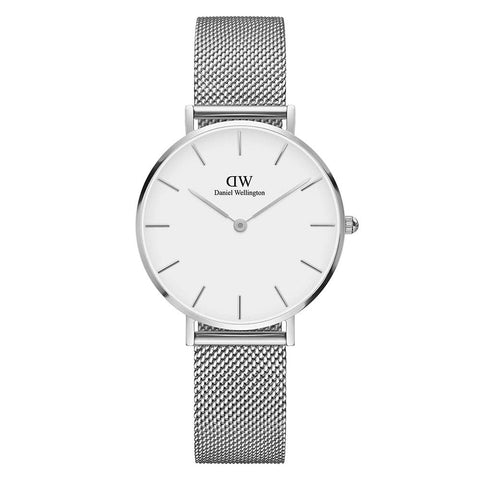 Daniel Wellington Ladies' Classic Petite Sterling 32mm Watch DW00100164 - JB Watches