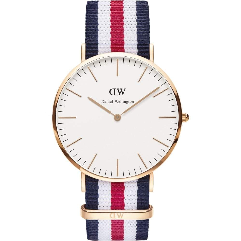 Daniel Wellington Men's Classic Canterbury 40mm Watch DW00100002 - JB Watches