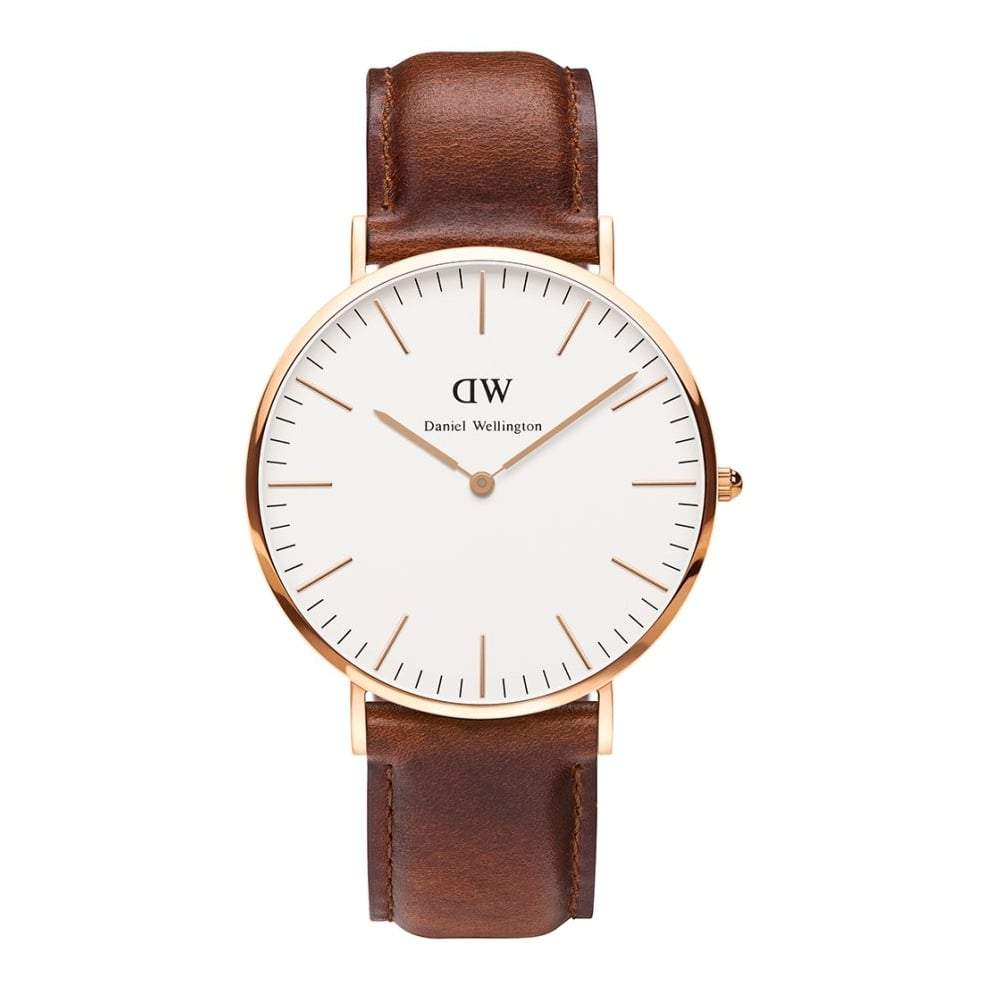 Daniel Wellington Men's St Mawes 40mm Watch DW00100006 - JB Watches