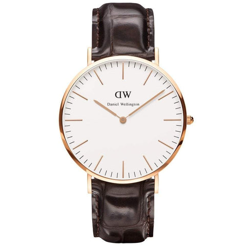 Daniel Wellington Men's Classic York 40mm Watch DW00100011 - JB Watches
