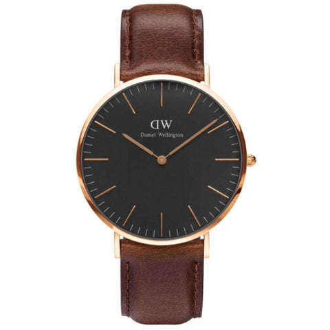Daniel Wellington Men's Classic Bristol 40mm Watch DW00100125 - JB Watches