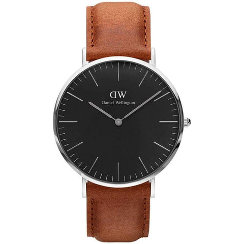 Daniel Wellington Unisex Classic Black Durham 40mm Watch DW00100132 - JB Watches
