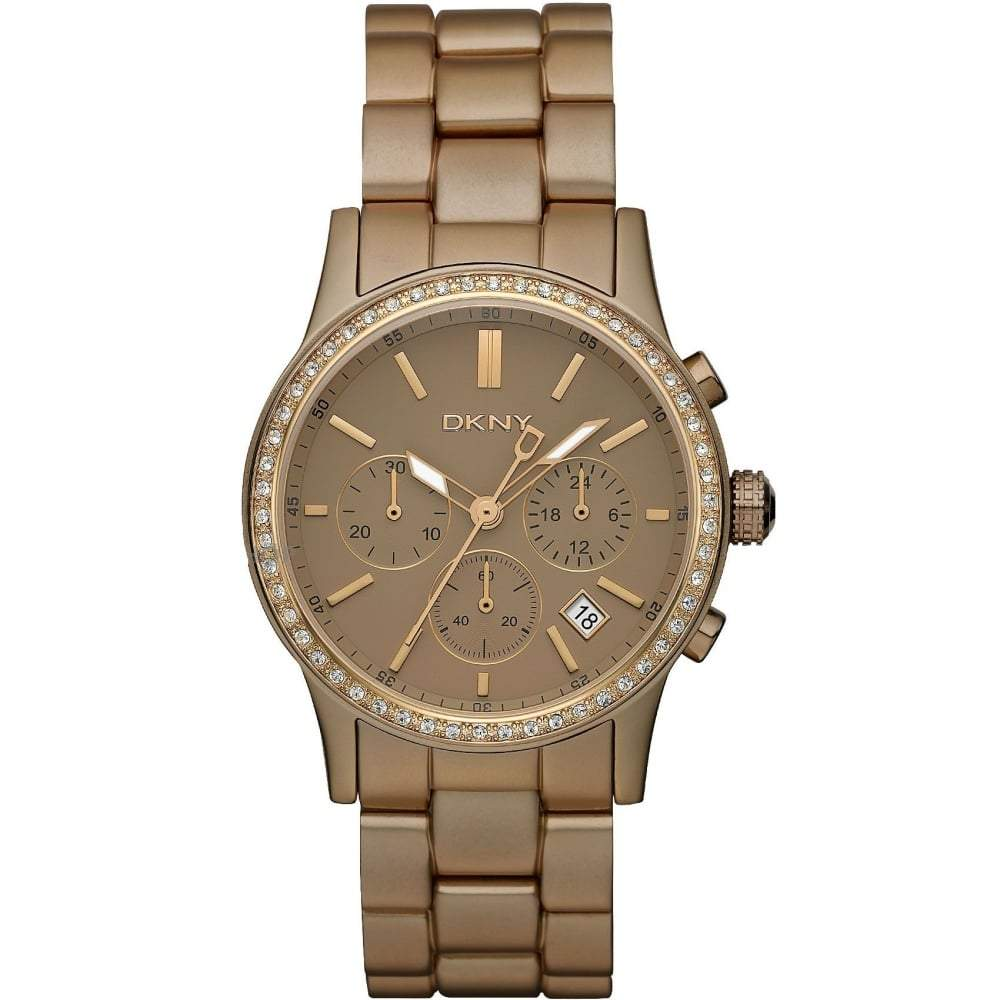 ef2bc12c7 DKNY Ladies' Chambers Chronograph Watch NY8324 - JB Watches