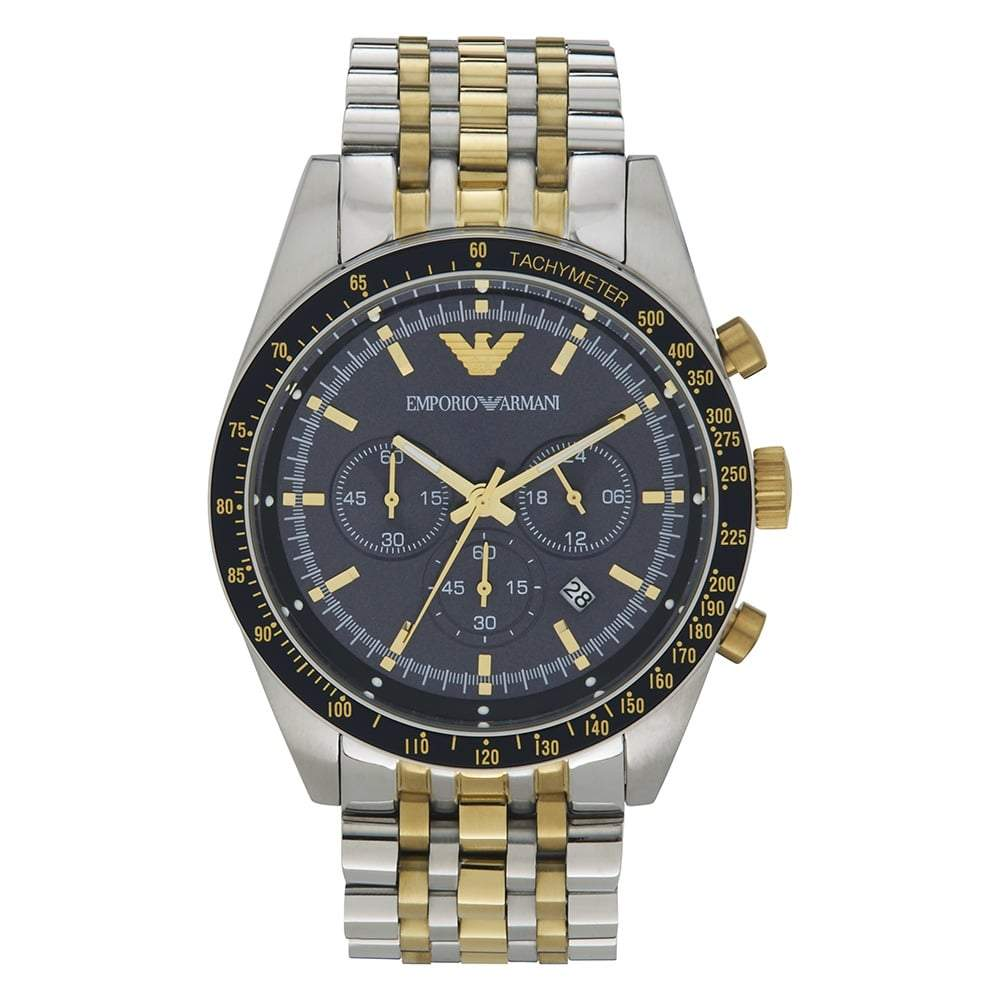 Emporio Armani Men's Chronograph Watch AR6088 - JB Watches