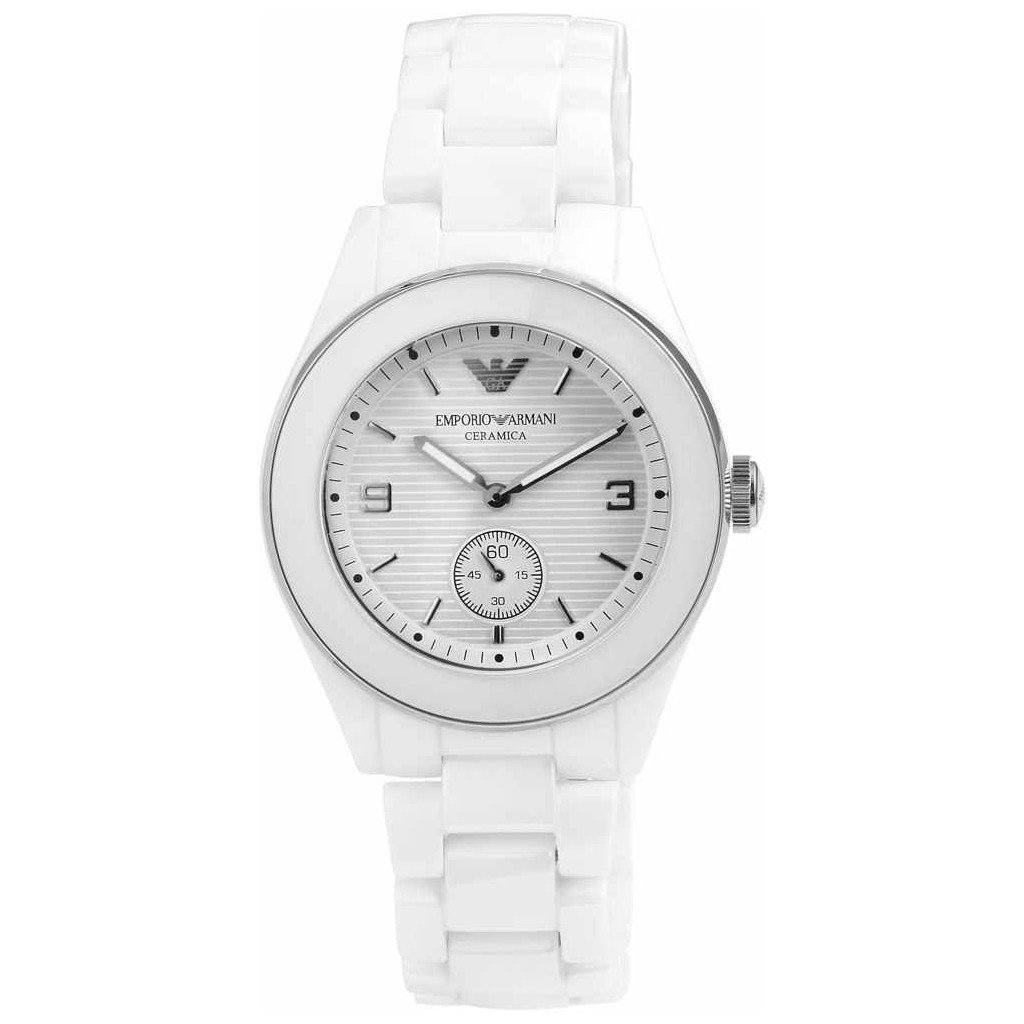 Emporio Armani Ladies' Ceramic Watch AR1425 - JB Watches