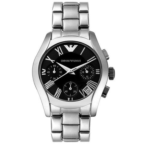 Emporio Armani Ladies' Chronograph Watch AR0674 - JB Watches
