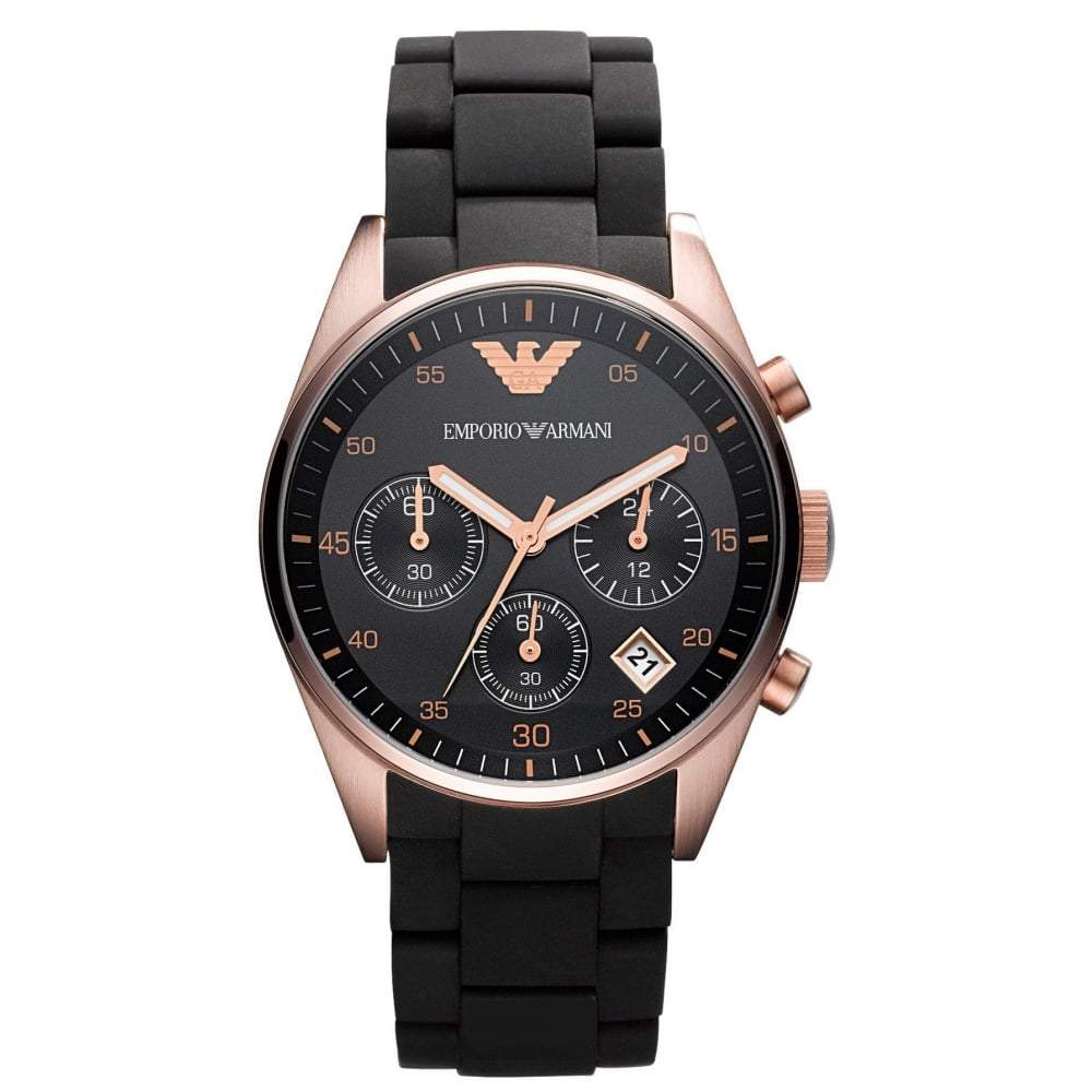 dc3525fb6 Emporio Armani Ladies' Chronograph Watch AR5906 - JB Watches