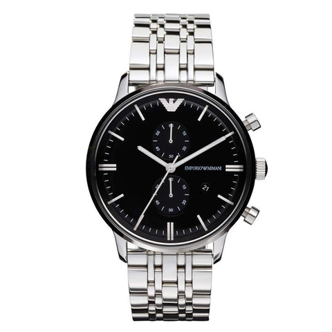 Emporio Armani Men's Chronograph Watch AR0389 - JB Watches